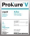 Prokure V 5 Gallon Liquid Disinfectant, Case of 12, 0.84 ounce Pouch