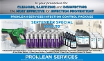 Proklean Services Infection Control Package - Limited Time Offer